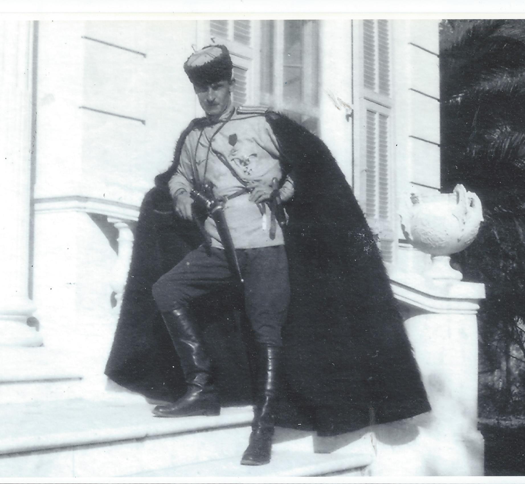 Полковник Александр Фермор в Ницце, 1921 год.
